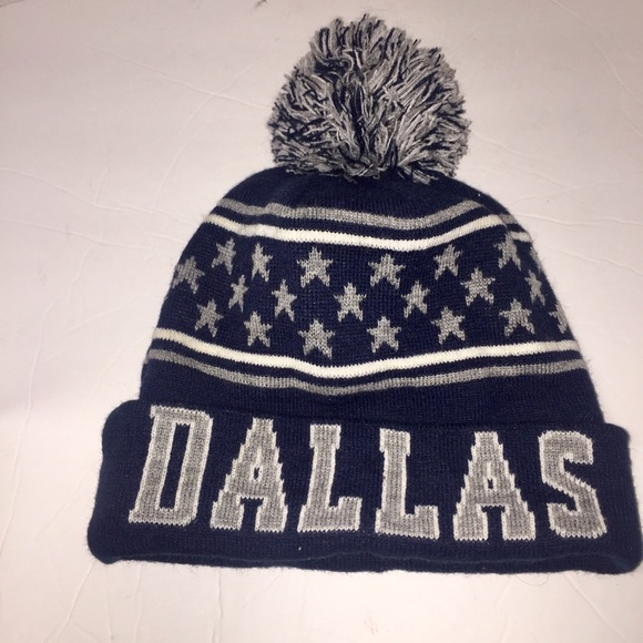 Dallas Cowboys knit beanie hat 74a1c568a